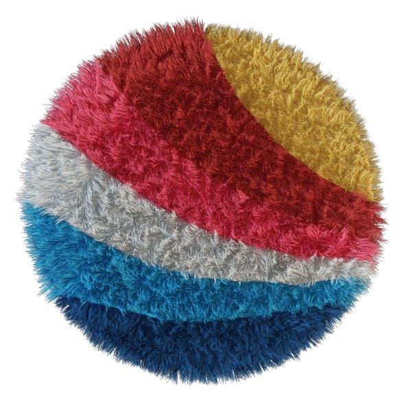 Carpet Rainbow round - 3DOcean Item for Sale