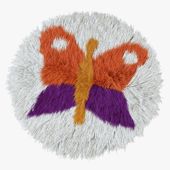 Carpet childrens butterfly - 3DOcean Item for Sale