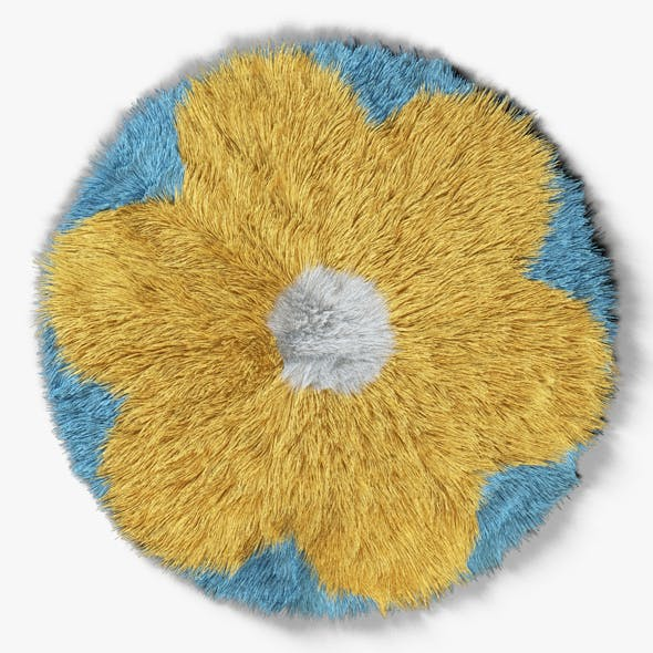 Carpet Childrens Flower - 3DOcean Item for Sale