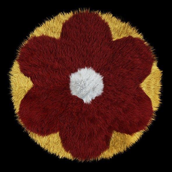 Carpet Childrens Flower 2 - 3DOcean Item for Sale