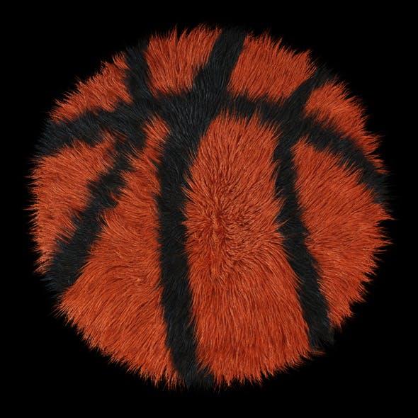 Carpet round Basketball - 3DOcean Item for Sale