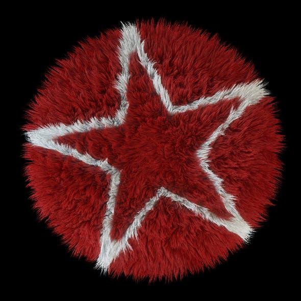 Carpet round Star - 3DOcean Item for Sale