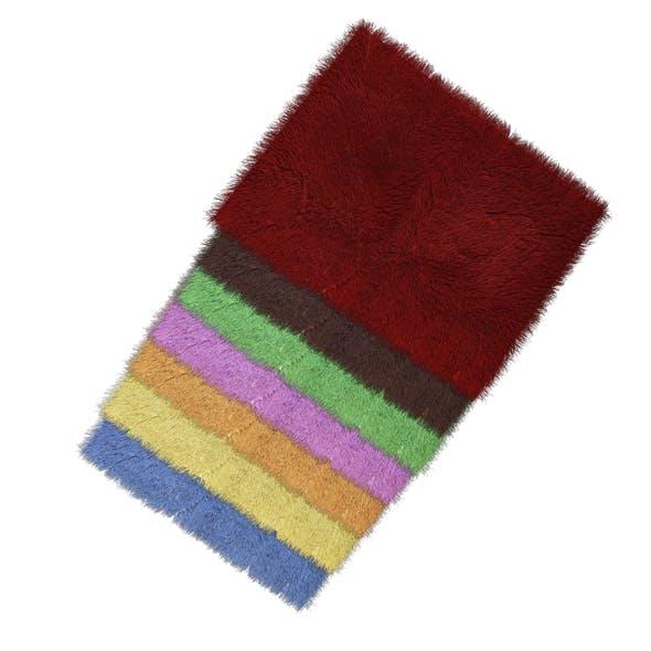 Carpet seven color - 3DOcean Item for Sale