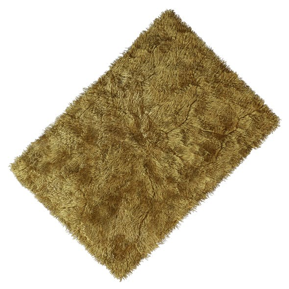 Carpet with long pile 7 colors
