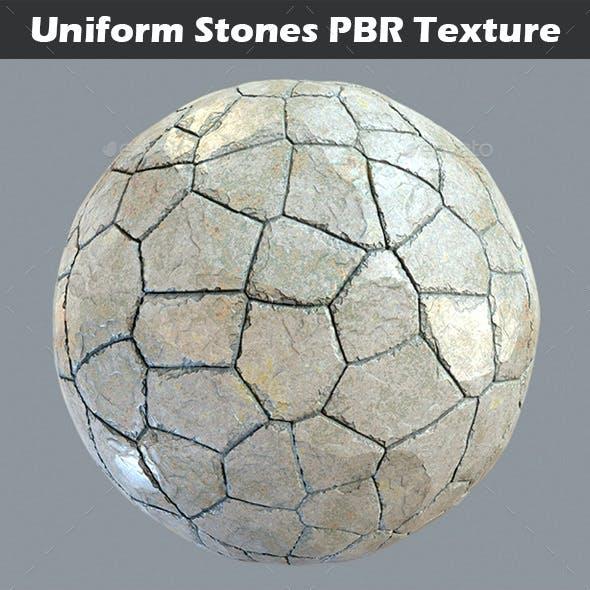 Uniform Stones v2 PBR Texture