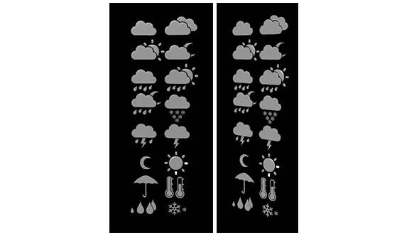 Weather Icons 3D Model - 3DOcean Item for Sale
