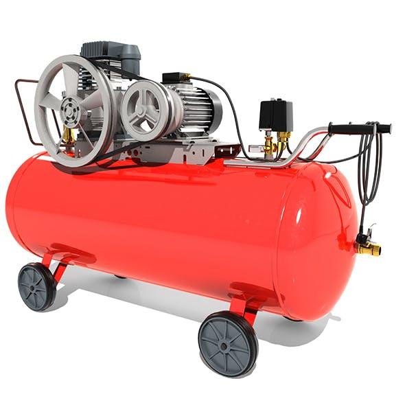 Electric Air Compressor - 3DOcean Item for Sale