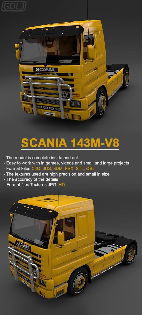 Scania Truck 143M-V8 - 3DOcean Item for Sale