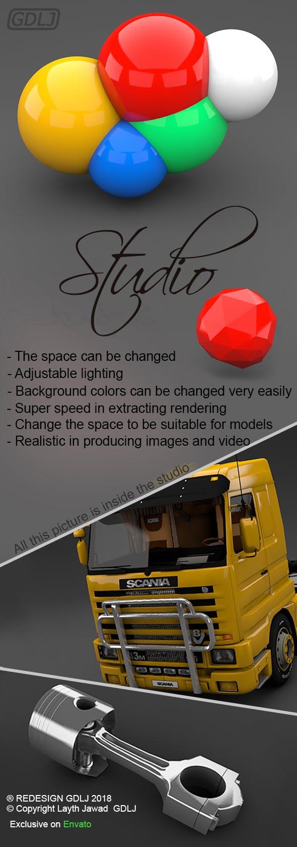 Studio - 3DOcean Item for Sale