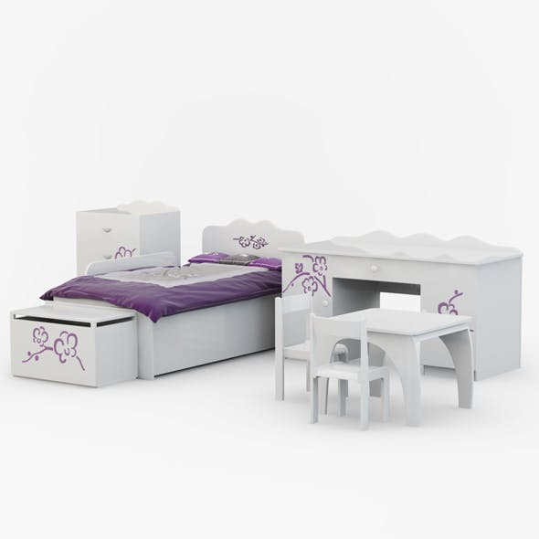 Childrens furniture Orchid Violet