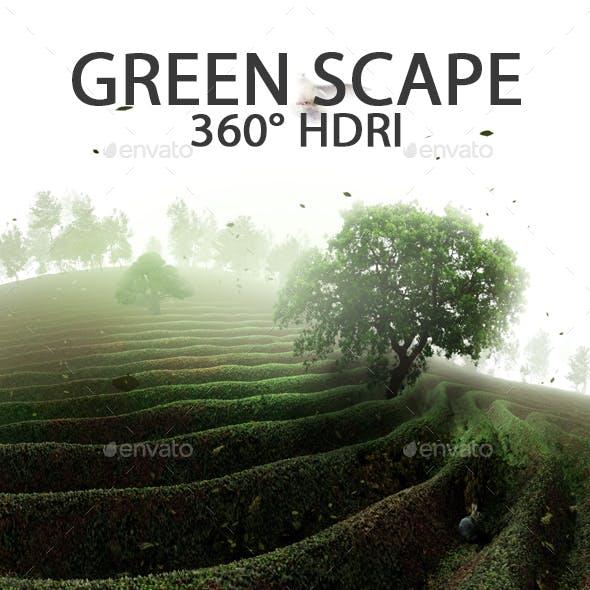 Green Scape HDRI
