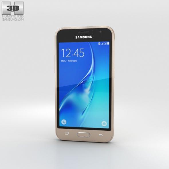 Samsung Galaxy J1 (2016) Gold - 3DOcean Item for Sale