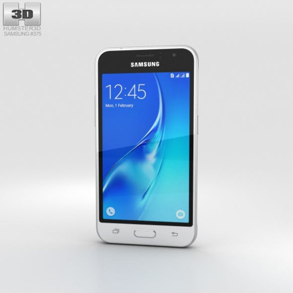 Samsung Galaxy J1 (2016) White - 3DOcean Item for Sale