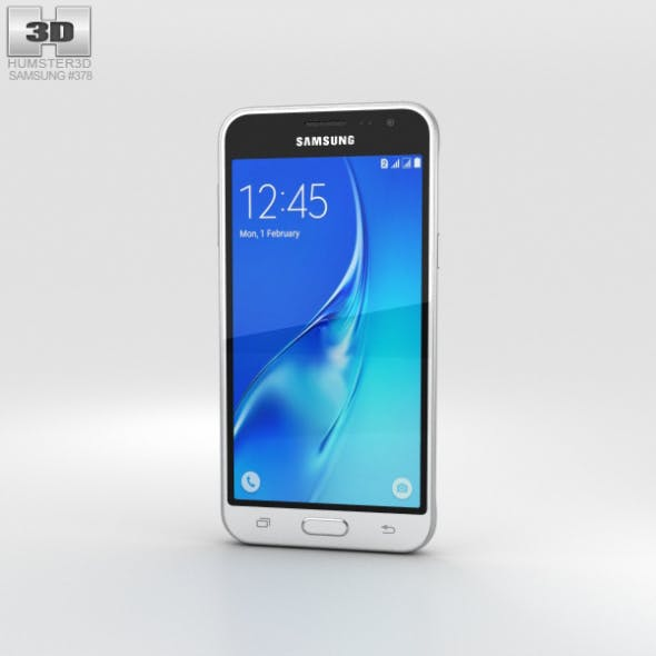 Samsung Galaxy J3 (2016) White - 3DOcean Item for Sale