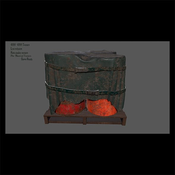 Military Material. - 3DOcean Item for Sale