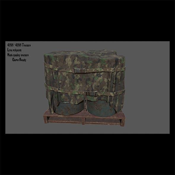 Military Material 4 - 3DOcean Item for Sale