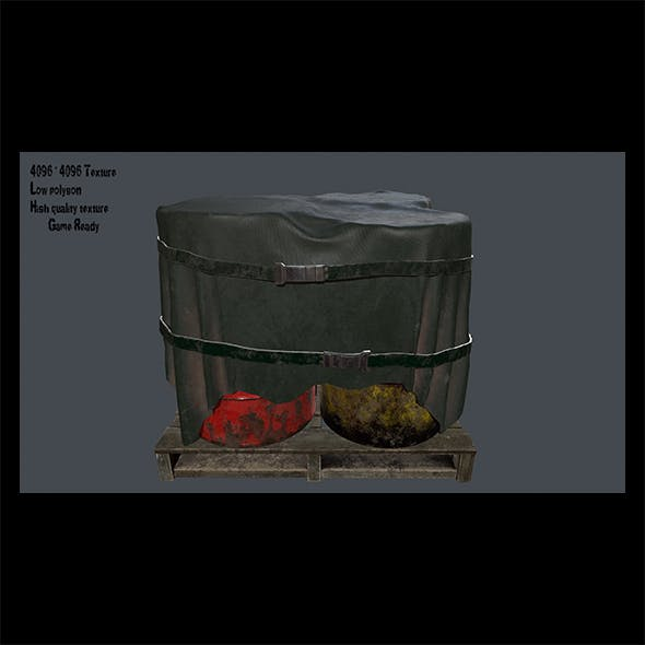 Military Material 9 - 3DOcean Item for Sale