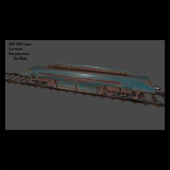 Train 1 - 3DOcean Item for Sale