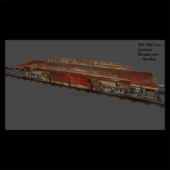 Train 3 - 3DOcean Item for Sale
