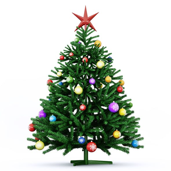 Christmas Tree 3 - 3DOcean Item for Sale