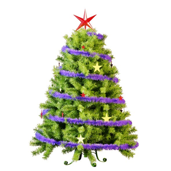 Christmas Tree 4 - 3DOcean Item for Sale