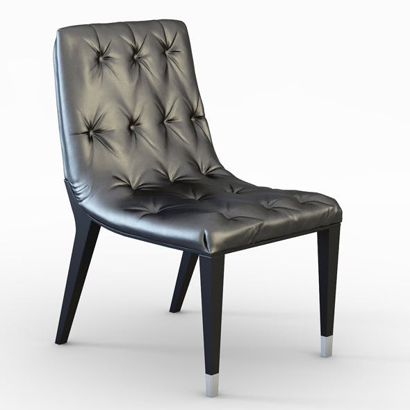 Club Italian Dining Chair - 3DOcean Item for Sale