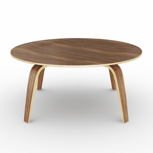 Coffee table Molded Plywood - 3DOcean Item for Sale