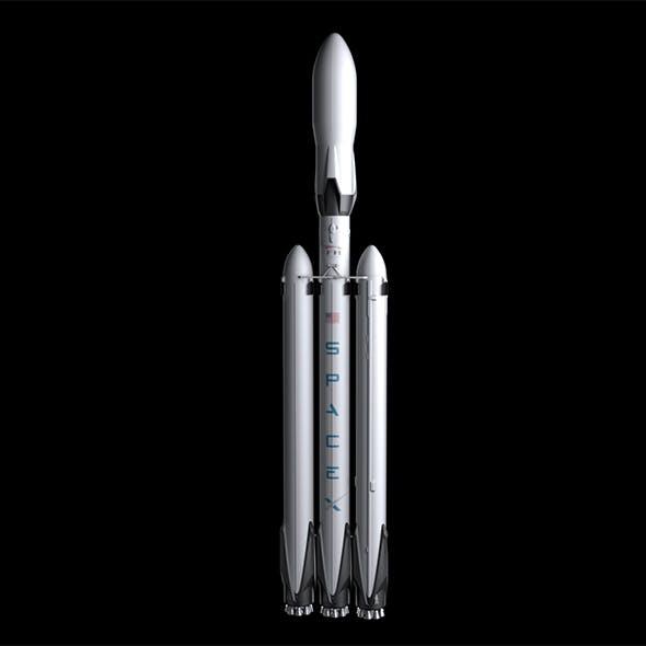 Falcon Heavy V1.2 Fully Reusable