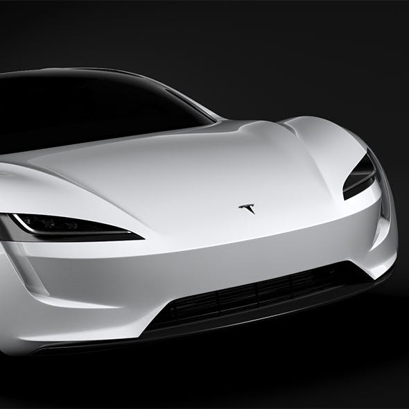 Tesla Coupe 2020 - 3DOcean Item for Sale