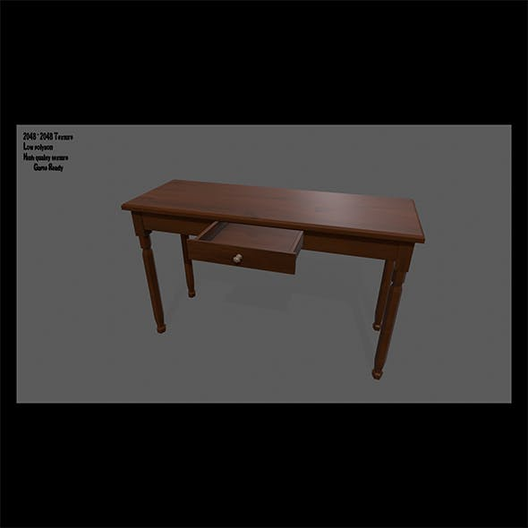 Console_Table - 3DOcean Item for Sale