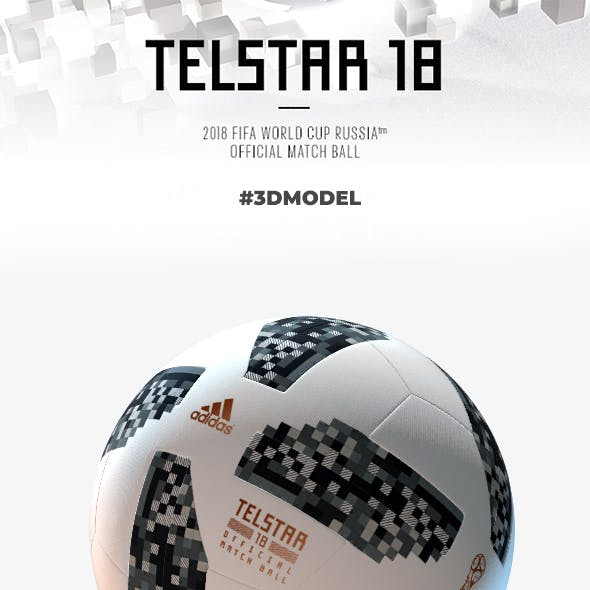 Official Match Ball Russia 2018 Telstar