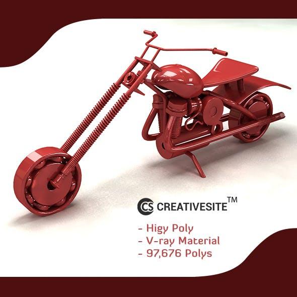 toy bike - 3DOcean Item for Sale