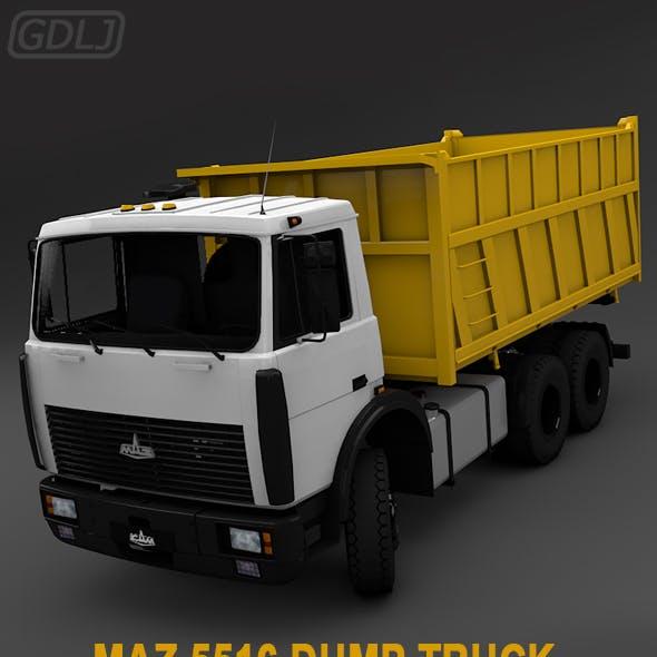 MAZ 5516 dump truck