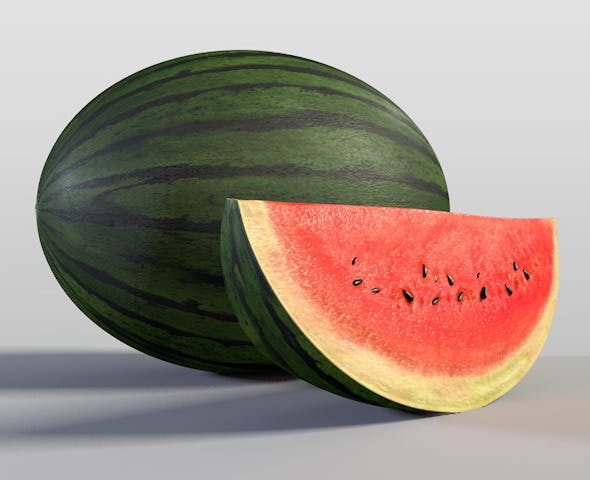 Watermelon - 3DOcean Item for Sale