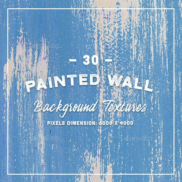 30 Painted Wall Background Textures