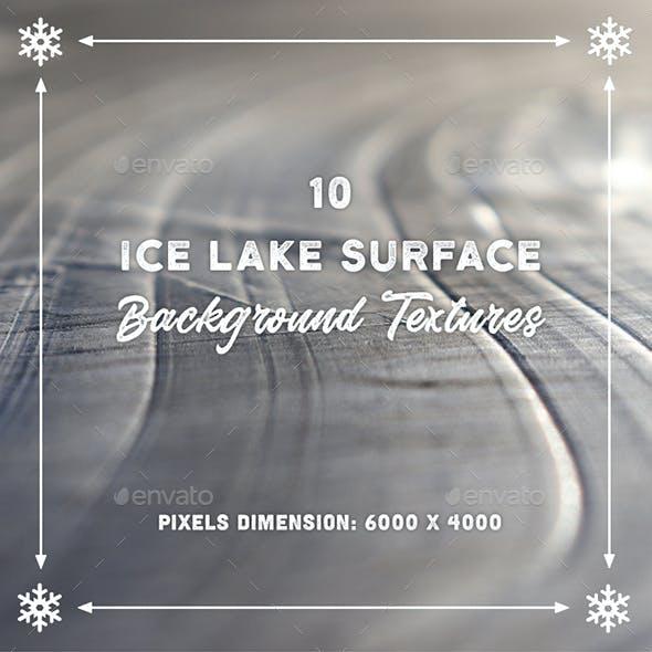 10 Ice Lake Surface Backgrounds