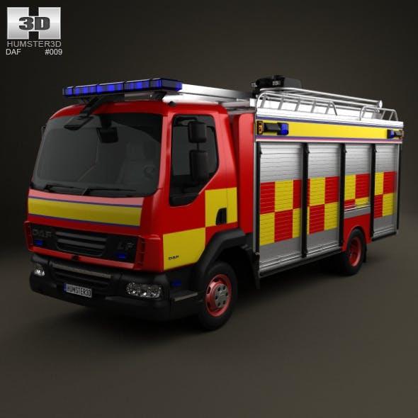 DAF LF Fire Truck 2011