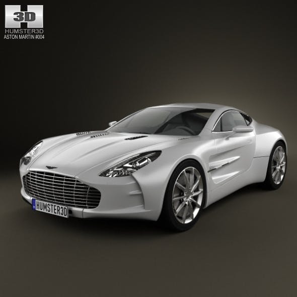 Aston Martin One-77 2010 - 3DOcean Item for Sale