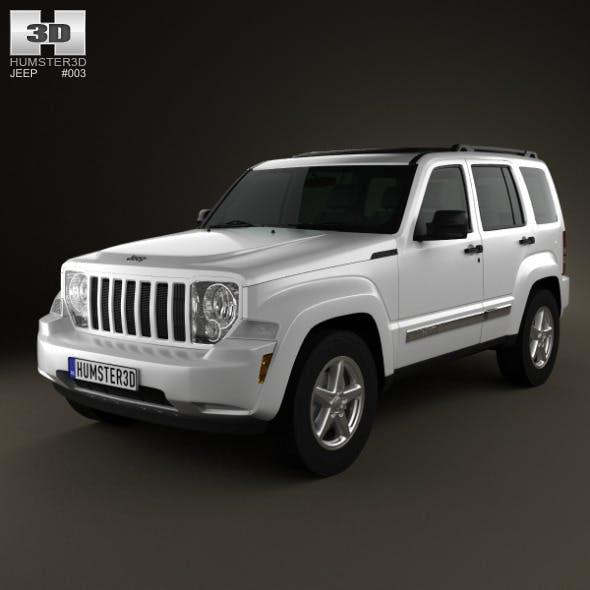 Jeep Liberty (?herokee) 2008  - 3DOcean Item for Sale