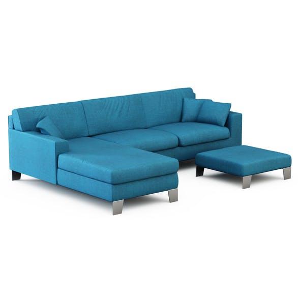 Sofa Easy - 3DOcean Item for Sale