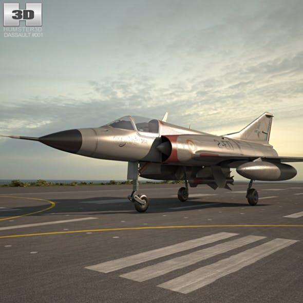 Dassault Mirage III - 3DOcean Item for Sale