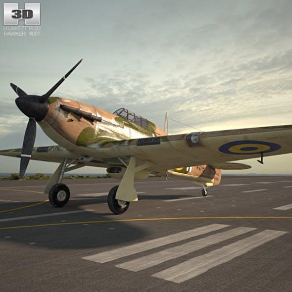 Hawker Hurricane - 3DOcean Item for Sale