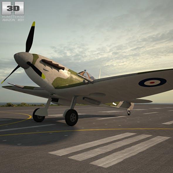 Supermarine Spitfire - 3DOcean Item for Sale