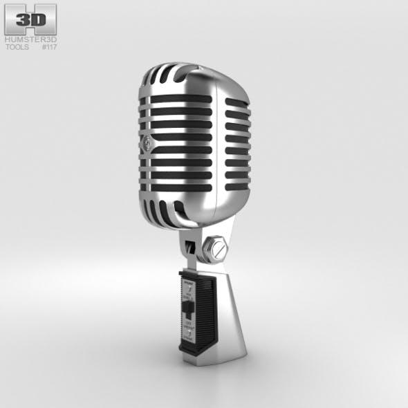 Retro Microphone - 3DOcean Item for Sale