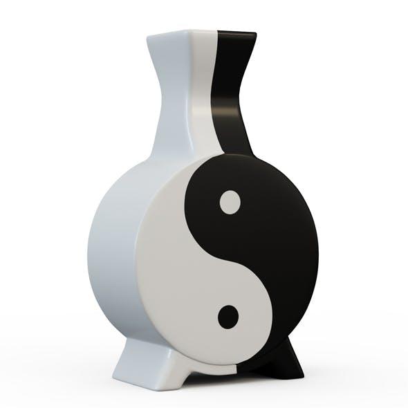 Vase Yin Yang