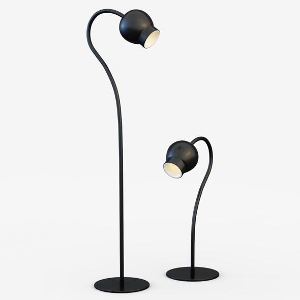 Floor lamp Cosmo - 3DOcean Item for Sale