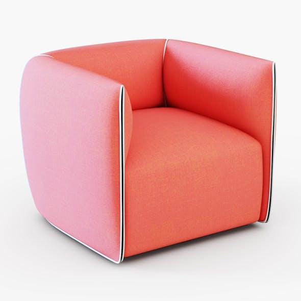 Francesco Bettoni Mia Armchair - 3DOcean Item for Sale