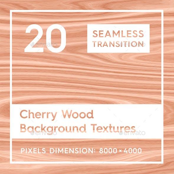 20 Cherry Wood Background Textures