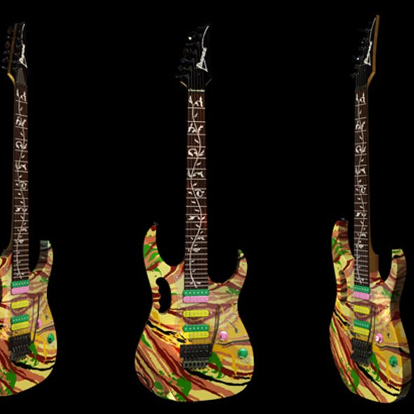 Electric Guitar Ibanez Swirl