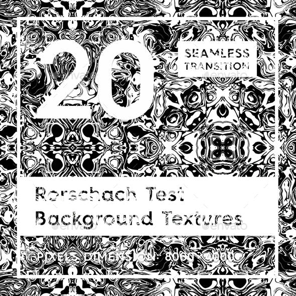 20 Rorschach Test Background Textures